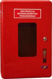 instrukcja bezpieczeństwa pożarowego - skrzynka