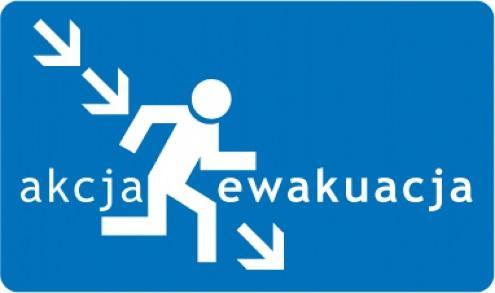 znak ewakuacja