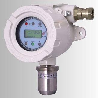 System detekcji gazu - zawór
