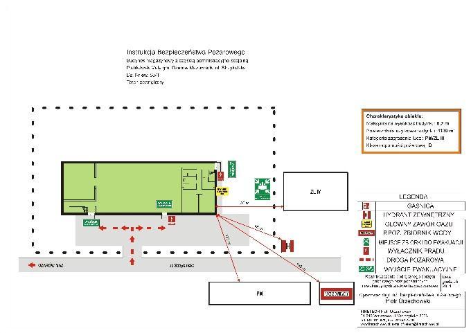 Instrukcja bezpieczeństwa pożarowego budynku