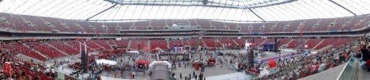 zabezpieczenie imprez masowych - ochrona przeciwpożarowa stadion