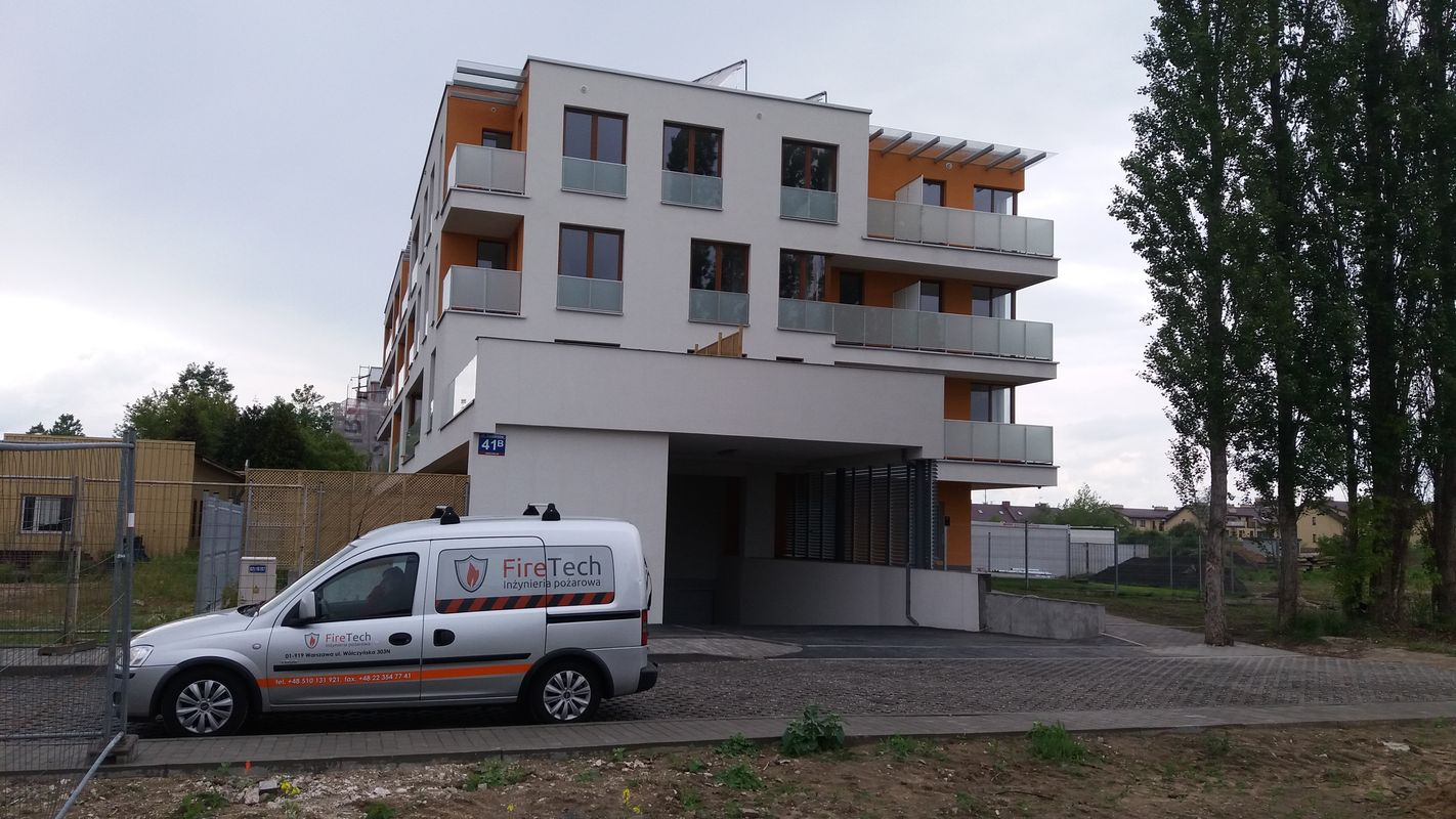 Przygotowanie budynku do odbioru ppoż - Józefosław