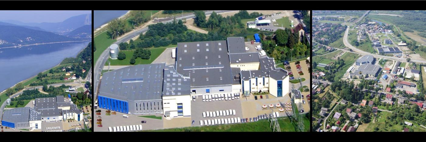 System oddymiania grawitacyjnego - Hala firmy EUROFIRANY Żywiec