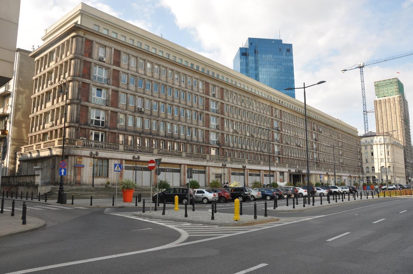 Budynek biurowy Komisji Nadzoru Finansowego  Warszawa Plac Powstańców Warszawy 1